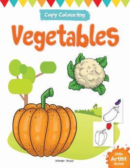 Wonderhouse-Little Artist Series Vegetables: Copy Colour Books