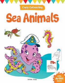 Wonderhouse-Little Artist Series Sea Animals: Copy Colour Books