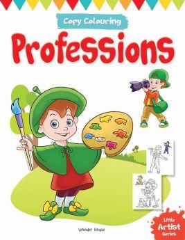 Wonderhouse-Little Artist Series Professions: Copy Colour Books