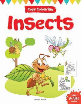 Wonderhouse-Little Artist Series Insects: Copy Colour Books