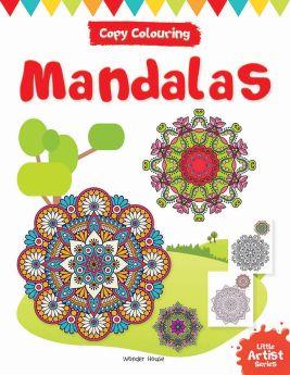 Wonderhouse-Little Artist Series Mandala: Copy Colour Books