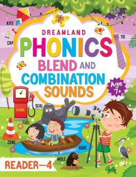 Dremland-Phonics Reader - 4 (Blends and Combination Sounds) Age 7+