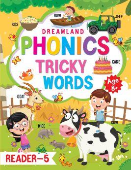 Dremland-Phonics Reader - 5 (Tricky Words) Age 8+