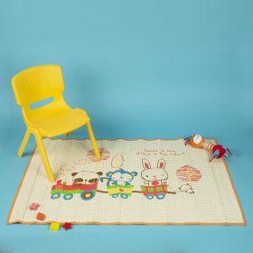 Baby Moo-Animal Chu Chu Train Orange Air Filled Waterproof Massage Mat