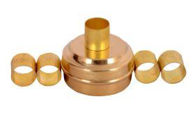 Desi Toys-Brass Miniature Pretend Play set Masala Box