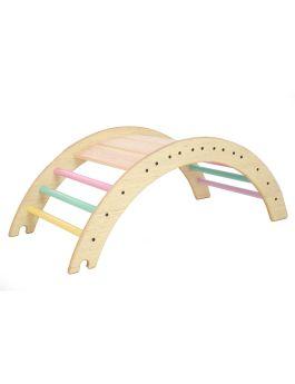 Ariro Toys-Pikler Climbing Arch-Semi colored