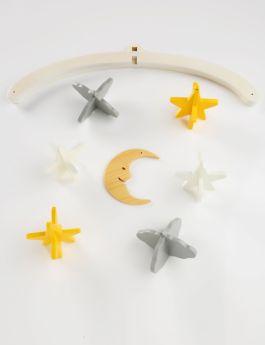 Ariro Toys Wooden Mobile - Night Sky