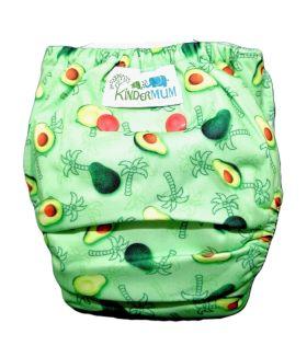 Kindermum Avo-Cuddle - Nano All-in-one trim cloth diaper