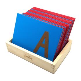 Skola Toys-Sandpaper Letters Upper Case