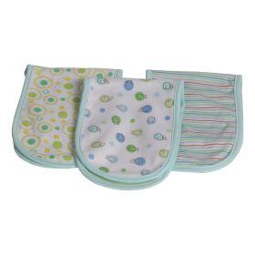 Baby Moo-Fun In The Ocean Blue 3 Pk Burp Cloth