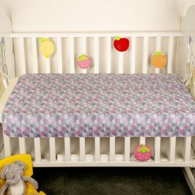 Baby Moo-Cloud Grey Water-Resistant Bed Protector