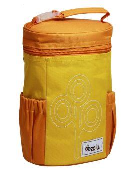 ZoLi NOM NOM Insulated Lunch Bag- Orange
