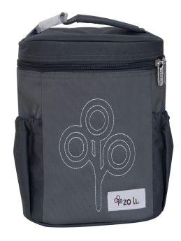 ZoLi NOM NOM Insulated Lunch Bag- Grey