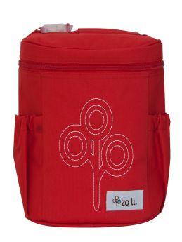 ZoLi NOM NOM Insulated Lunch Bag- Red
