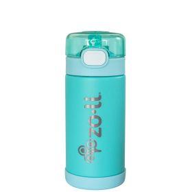 ZoLi POW SQUEAK Vacuum Insulated Straw Drink Bottle-Mint