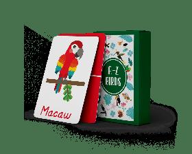 The Happy Hula-A-Z Flashcards - Birds