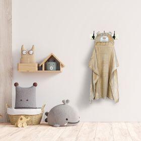 Baby Moo-BFF Bear Light Brown Animal Hooded Blanket