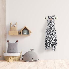 Baby Moo-Calf Black and White Animal Hooded Blanket