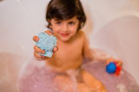 Cuddle Care-Happy Earth Vegan Baby Bath Soap-Blue (Aqua)