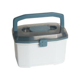 Baby Moo-Large Blue Medicine Box