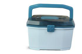 Baby Moo-Small Blue Medicine Box
