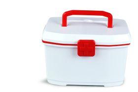 Baby Moo-Small Red Medicine Box