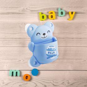 Baby Moo-BFF Bear Blue Toothbrush Holder