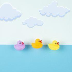 Baby Moo-Baby Ducks Multicolour 8Pcs Squeezy Bath Toy
