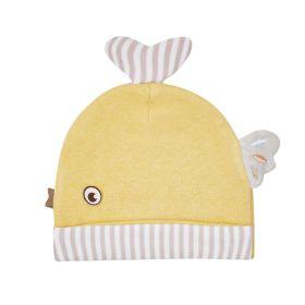 Baby Moo-Fishy Yellow Cap