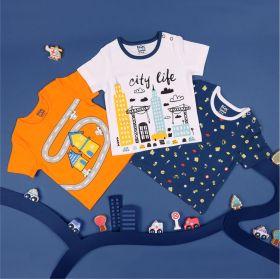 Kicks & Crawl- City Life Tshirts - Pack of 3