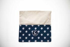 CuddlyCoo-Reading Cushion - Blue Star