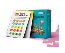 Dinostaury-Learn About Healthy Lunchbox Food Choices Flashcard