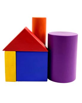 Glee Natural Toys-First Blocks