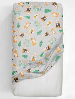 Rabitat Flat Crib Sheet Oh Baby V1