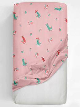 Rabitat Flat Crib Sheet No Prob Lama V1