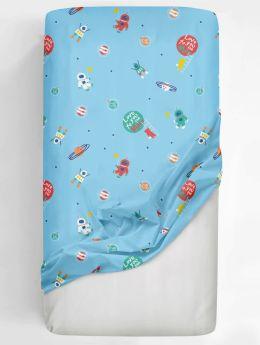 Rabitat Flat Crib Sheet Love you to the Moon V1