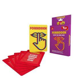 Toiing Forbidden: Fun Card Game Based On Language