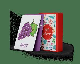 The Happy Hula-A-Z Flashcards - Hindi Varnamala