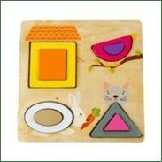 Little Jamun My Little Pets - Shape Sorter And Puzzle
