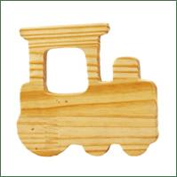 Little Jamun-Choo Choo Train Wooden Rattle