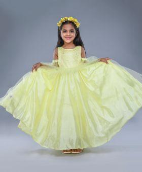 Jelly Jones-Lemon Gown-Yellow