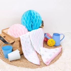 Kicks & Crawl - PO3 Muslin Wash Cloths- Pink Snail, Stripes, Flowers