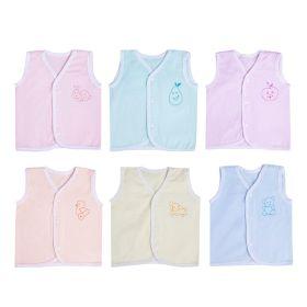 Baby Moo-Nature Lover Multicolour Pastels 6 Pk 100% Cotton Jhabla