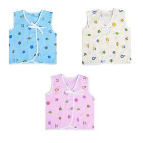 Baby Moo-Your Star Is Born Multicolour 3 Pk 100% Cotton Jhabla