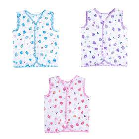 Baby Moo-Sugar High Pink, Purple & Blue 3 Pk 100% Cotton Jhabla
