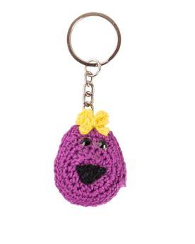Happy Threads-Little Miss Helpful Keychain