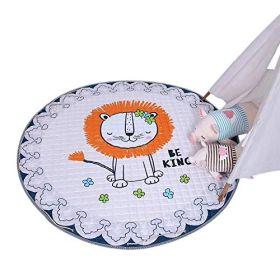 Little Jamun The king Lion Soft Play Mat & drawstring bag