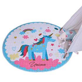 Little Jamun Magical Unicorn Baby Soft Play Mat & drawstring mat