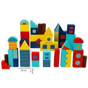 Little Jamun-Around Town Building Blocks - Big Size 40 pcs