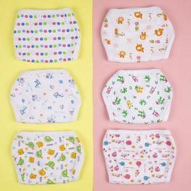 Baby Moo-Printed 25X30 Cm Multicolour 6 Pk Padded Langot